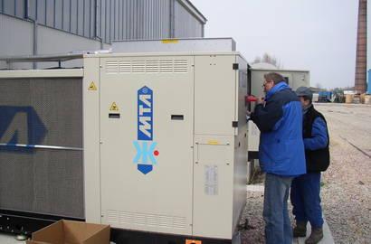 pravidelný servis chladiče MTA