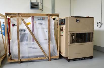 nový kopresor Gardner Denver a kompresor Tamrotor připravený k zapůjčení nebo odprodeji