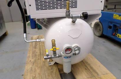 komplet kompresoru na vzdušníku se sušičkou