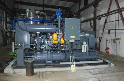 turbokompresor HANWHA Techwin, série SM (bez odhlučněného krytu)