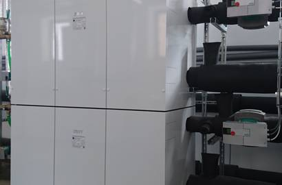 Tepelné čerpadlo IVT GEO země-voda je vhodné pro větší objekty.