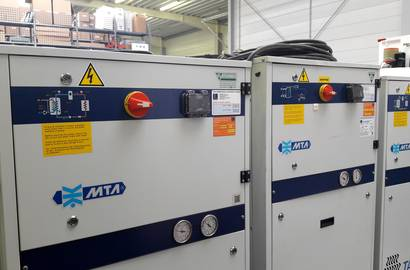 Cooling units ready to be rented or sold
