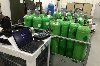 Analýza chladiv před čištěním