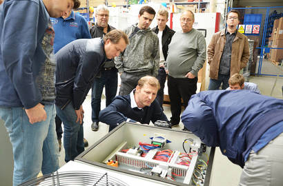 Training of Dealers and OEM Partners with Jiří Freund and collective