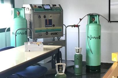 We have modified our FRI 3 Oil system at a Spanish manufacturer of RefriApp